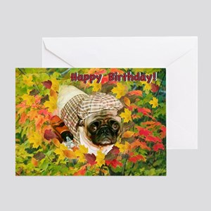 Lost in the Ruff Birthday Greeting Card