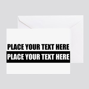 Text message Customized Greeting Cards
