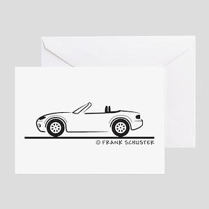 Mazda Miata MX-5 NB Greeting Card