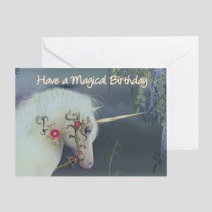 Unicorn Birthday Card Magical Birthday