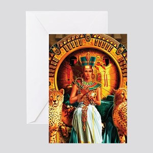 Queen Cleopatra Greeting Cards