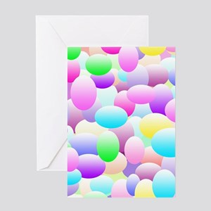 Bubble Eggs Light Greeting Cards