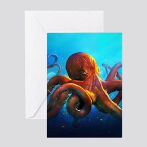 Octopus Greeting Cards