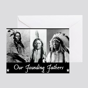 real founders Greeting Card