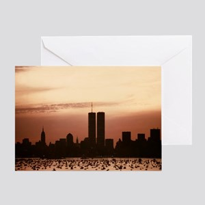 Dawn Over Liberty Greeting Card