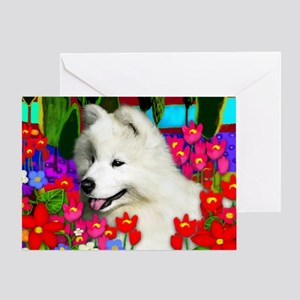 samoyedpupp Greeting Card