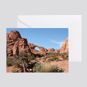 Arches National Park, Utah, USA Greeting Card