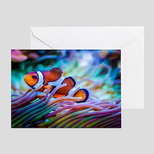 Clownfish Greeting Card