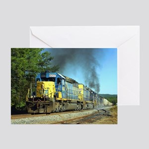 CSX Smoker Greeting Card
