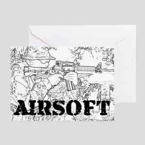 airsoft 010 Greeting Card