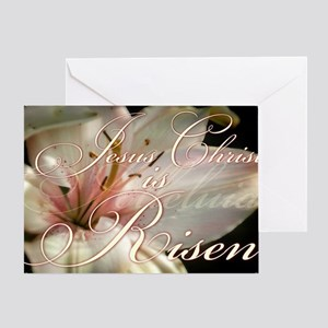 Christ is Risen Greeting Card