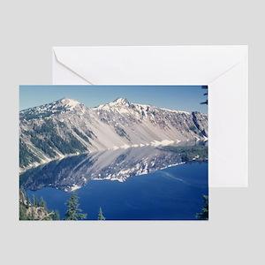 Crater Lake June 1967  Greeting Card