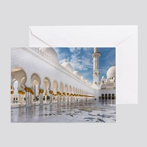Sheikh Zayed Mosque Greeting Card