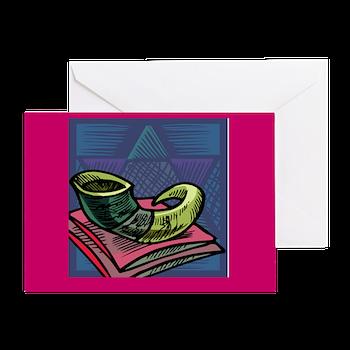 Shofar jewish new year greeting card shofar jewish new year cards shofar jewish new year greeting card m4hsunfo