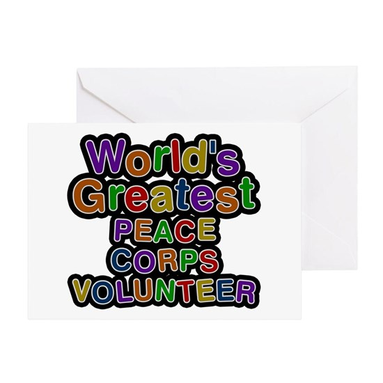 Worlds Greatest PEACE CORPS VOLUNTEER