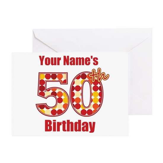 Happy 50th Birthday - Personalized!