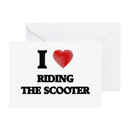I love Riding The Scooter