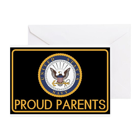 U.S. Navy: Proud Parents (Black)