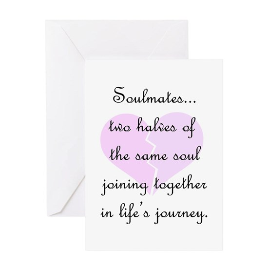 Soulmates (faded heart design)