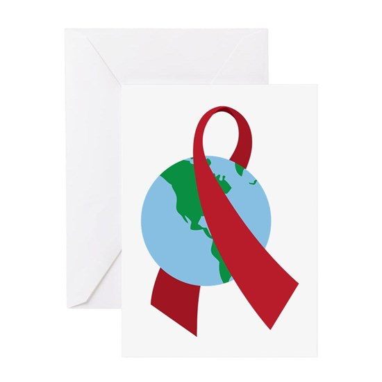World AIDS Ribbon