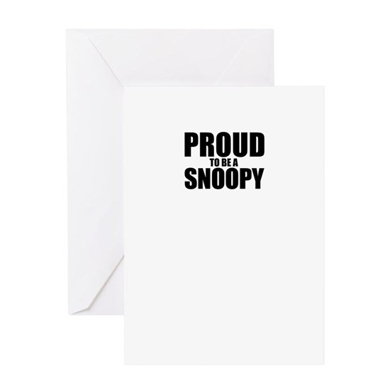 Proud to be SNOOPY