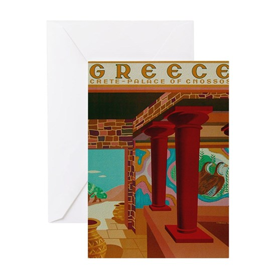Vintage Crete Greece Travel