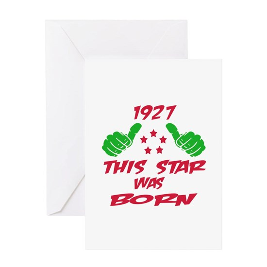 1927 This star was born