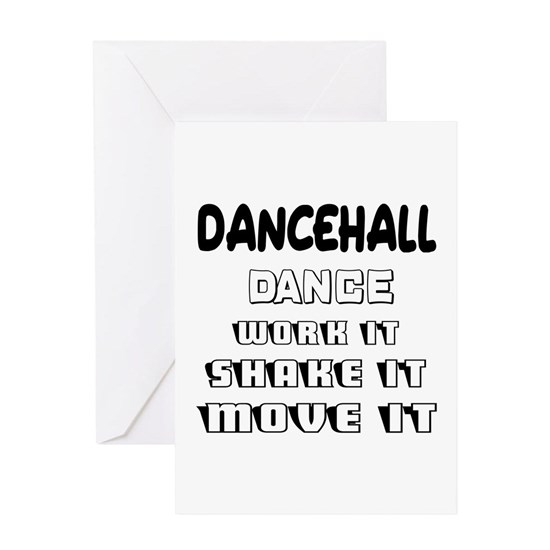 Dancehall dance work it, shake it, move it
