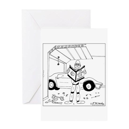 Car Repair for Dummies Greeting Card by McHumor.com