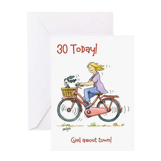 30 Today - girl about town