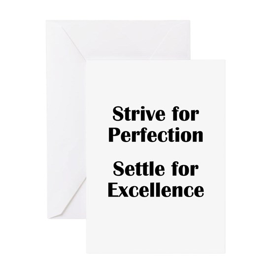 Strive for Perfection
