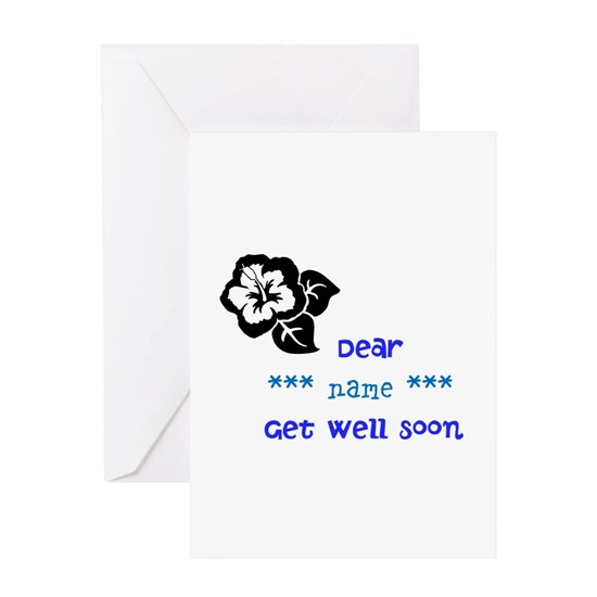 get well soon Greeting Card get well soon Greeting Cards