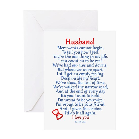 Husband Christmas Cards.Husband Love S Greeting Card