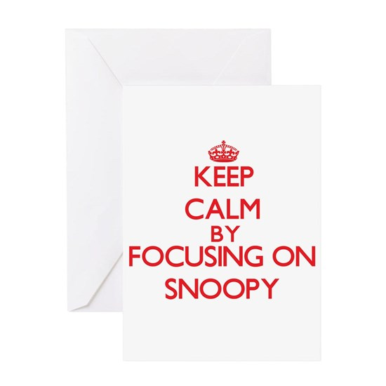 Keep Calm by focusing on Snoopy