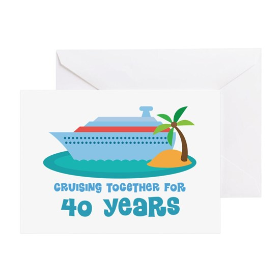 40th Annivesrary Cruise Ship