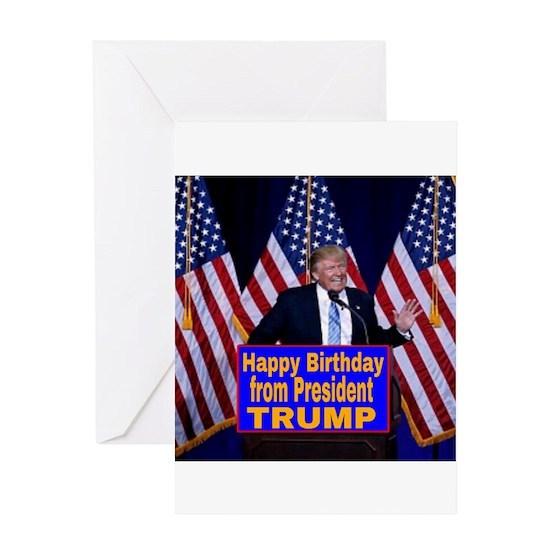 Happy Birthday from President Trump