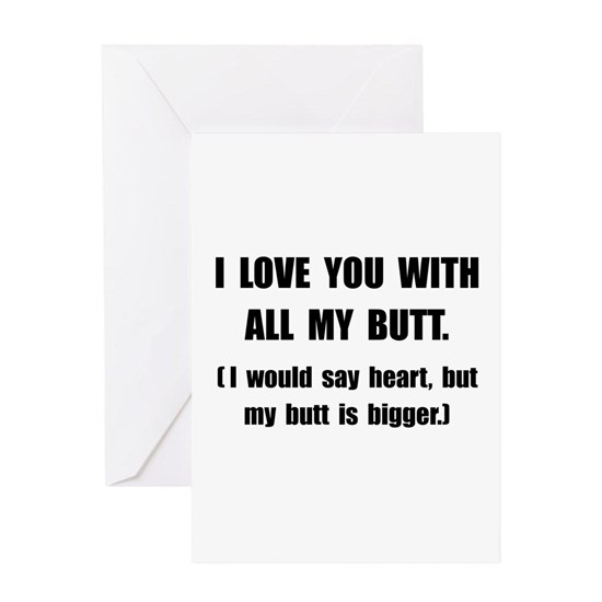 Love You With Butt