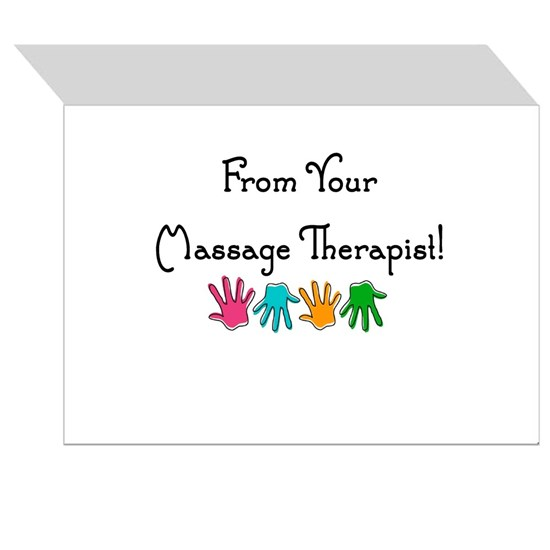 Massage Therapist Thank You Cards