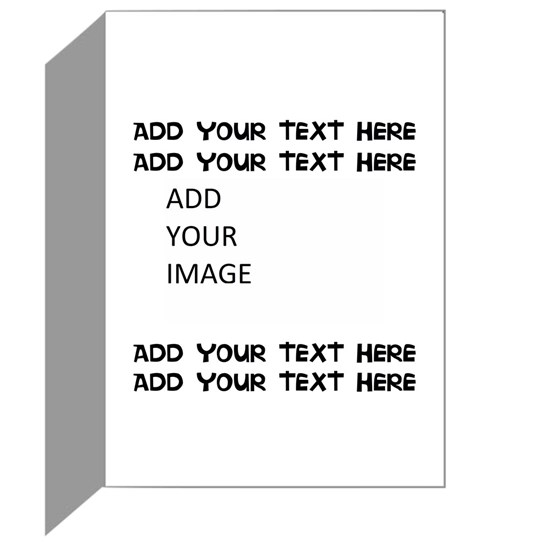 Custom Text and Image