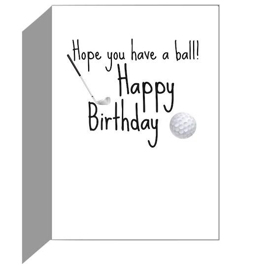 HB Golfer card