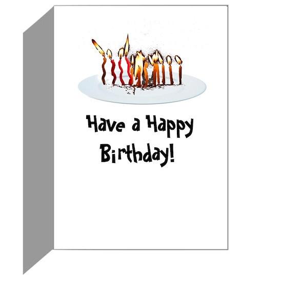 Paleo Funny Birthday Card