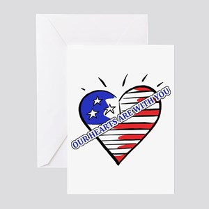 Valentine's for Military Greeting Cards (Pk of 20)