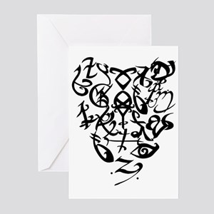 A Shadowhunter(s) Heart Greeting Cards (Pk of 20)
