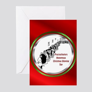 Belated Merry Christmas Greeting Cards (Pk of 20)