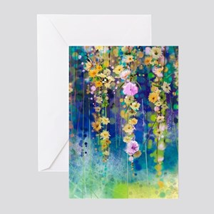Floral Painting Greeting Cards (Pk of 20)