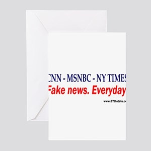 CNN - MSNBC - NY TIMES Greeting Cards (Pk of 20)