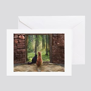 Doorway into Forever nc Greeting Cards