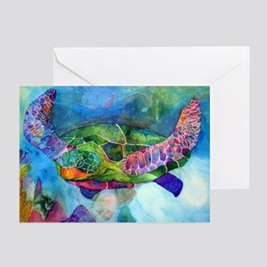 Sea Turtle Greeting Cards (Pk of 20)
