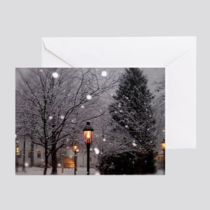 White Christmas Greeting Cards (pk Of 20)