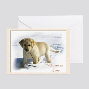 Labrador Retriever Chris Greeting Cards (Pk of 20)
